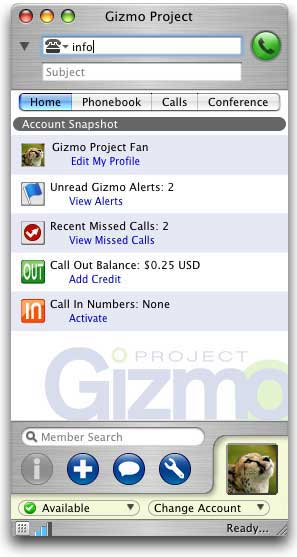 Gizmo project